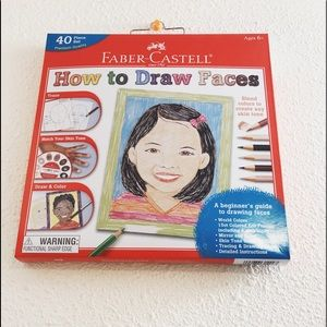 Faber Castell How to draw faces set